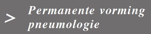 Permanente vorming pneumologie in UZ Leuven